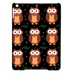 Halloween brown owls  iPad Air Hardshell Cases