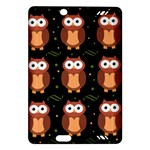 Halloween brown owls  Amazon Kindle Fire HD (2013) Hardshell Case
