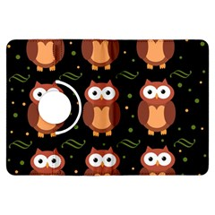 Halloween brown owls  Kindle Fire HDX Flip 360 Case