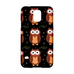 Halloween brown owls  Samsung Galaxy S5 Hardshell Case