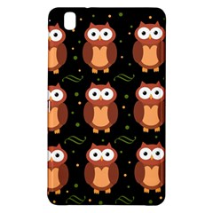 Halloween brown owls  Samsung Galaxy Tab Pro 8.4 Hardshell Case
