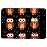 Halloween brown owls  iPad Air Flip