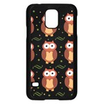 Halloween brown owls  Samsung Galaxy S5 Case (Black)