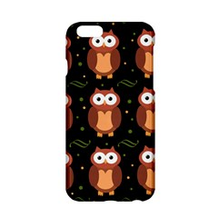 Halloween brown owls  Apple iPhone 6/6S Hardshell Case