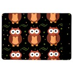 Halloween brown owls  iPad Air 2 Flip