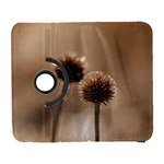 Withered Globe Thistle In Autumn Macro Samsung Galaxy S  III Flip 360 Case