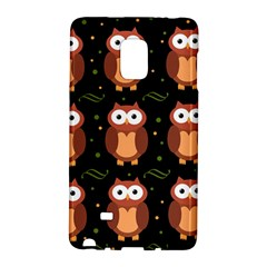 Halloween brown owls  Galaxy Note Edge