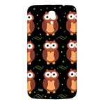 Halloween brown owls  Samsung Galaxy Mega I9200 Hardshell Back Case