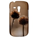 Withered Globe Thistle In Autumn Macro Samsung Galaxy S3 MINI I8190 Hardshell Case