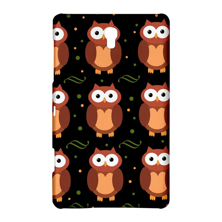 Halloween brown owls  Samsung Galaxy Tab S (8.4 ) Hardshell Case