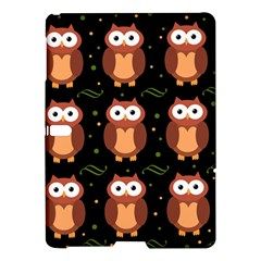 Halloween brown owls  Samsung Galaxy Tab S (10.5 ) Hardshell Case