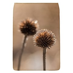 Withered Globe Thistle In Autumn Macro Flap Covers (s)  by wsfcow