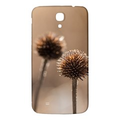 Withered Globe Thistle In Autumn Macro Samsung Galaxy Mega I9200 Hardshell Back Case