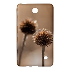 Withered Globe Thistle In Autumn Macro Samsung Galaxy Tab 4 (7 ) Hardshell Case