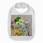 Potato salad in a jar on wooden Bib Front