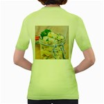 Potato salad in a jar on wooden Women s Green T-Shirt Back