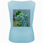Potato salad in a jar on wooden Women s Baby Blue Tank Top Back