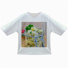 Potato Salad In A Jar On Wooden Infant/toddler T Shirts by wsfcow