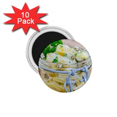 Potato Salad In A Jar On Wooden 1 75  Magnets (10 Pack)