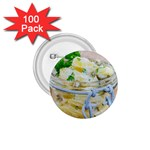 Potato salad in a jar on wooden 1.75  Buttons (100 pack)  Front