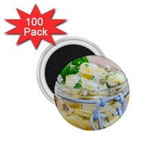 Potato Salad In A Jar On Wooden 1 75  Magnets (100 Pack)