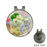 Potato salad in a jar on wooden Hat Clips with Golf Markers Front