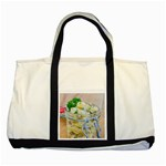 Potato salad in a jar on wooden Two Tone Tote Bag Front