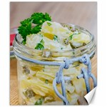 Potato salad in a jar on wooden Canvas 8  x 10  10.02 x8 Canvas - 1
