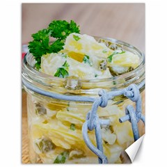 Potato Salad In A Jar On Wooden Canvas 18  X 24