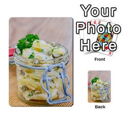 Potato Salad In A Jar On Wooden Multi Purpose Cards (rectangle)  by wsfcow