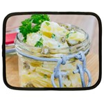 Potato salad in a jar on wooden Netbook Case (Large) Front