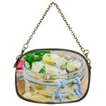 Potato salad in a jar on wooden Chain Purses (Two Sides)  Back