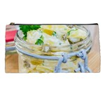 Potato salad in a jar on wooden Pencil Cases Front
