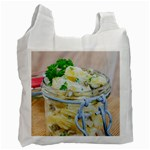 Potato salad in a jar on wooden Recycle Bag (One Side) Front