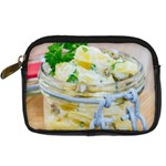 Potato salad in a jar on wooden Digital Camera Cases Front