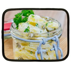 Potato salad in a jar on wooden Netbook Case (XXL)