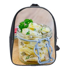 Potato Salad In A Jar On Wooden School Bags(large)