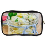 Potato salad in a jar on wooden Toiletries Bags 2-Side Front