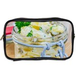 Potato salad in a jar on wooden Toiletries Bags 2-Side Back