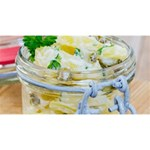 Potato salad in a jar on wooden Magic Photo Cubes Long Side 2