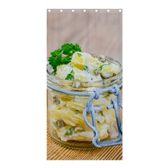 Potato salad in a jar on wooden Shower Curtain 36  x 72  (Stall)