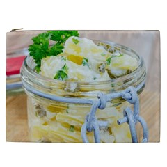 Potato Salad In A Jar On Wooden Cosmetic Bag (xxl)