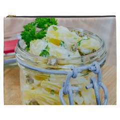 Potato Salad In A Jar On Wooden Cosmetic Bag (xxxl)  by wsfcow