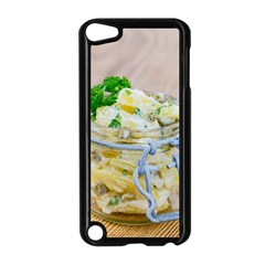 Potato Salad In A Jar On Wooden Apple Ipod Touch 5 Case (black)