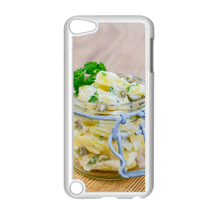 Potato salad in a jar on wooden Apple iPod Touch 5 Case (White)