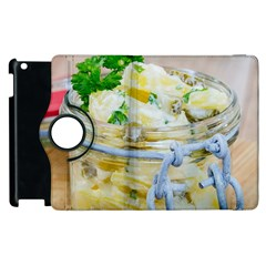 Potato salad in a jar on wooden Apple iPad 3/4 Flip 360 Case