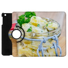 Potato Salad In A Jar On Wooden Apple Ipad Mini Flip 360 Case by wsfcow
