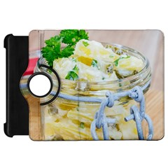 Potato Salad In A Jar On Wooden Kindle Fire Hd Flip 360 Case by wsfcow