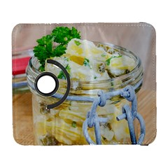 Potato salad in a jar on wooden Samsung Galaxy S  III Flip 360 Case