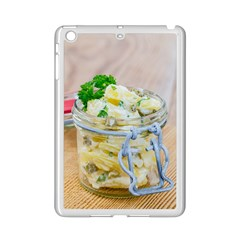 Potato salad in a jar on wooden iPad Mini 2 Enamel Coated Cases